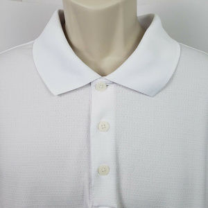 Adidas Climalite Short Sleeve Golf Polo White 2XL
